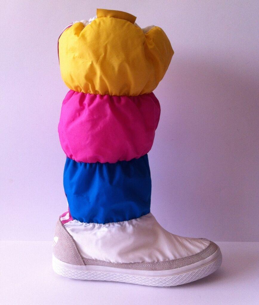 ADIDAS ORIGINALS 'Adi Winter' THINSULATE Sneaker Hoodie Snow Boot WMN US 5.5 NEU