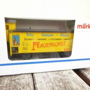 Maerklin-4891-Spezialgueterwagen-Frauengunst-Margarine-Fleisch-Fritz-Homann-Dissen