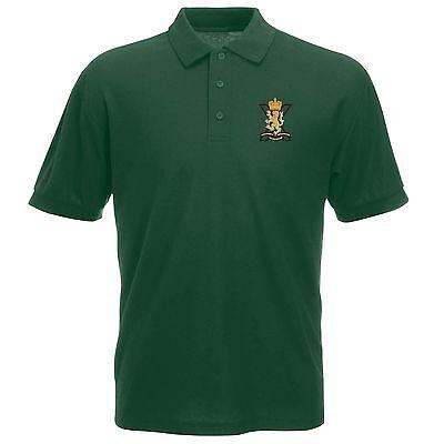 Royal Welsh Regiment Polo Shirt Embroidered Logo