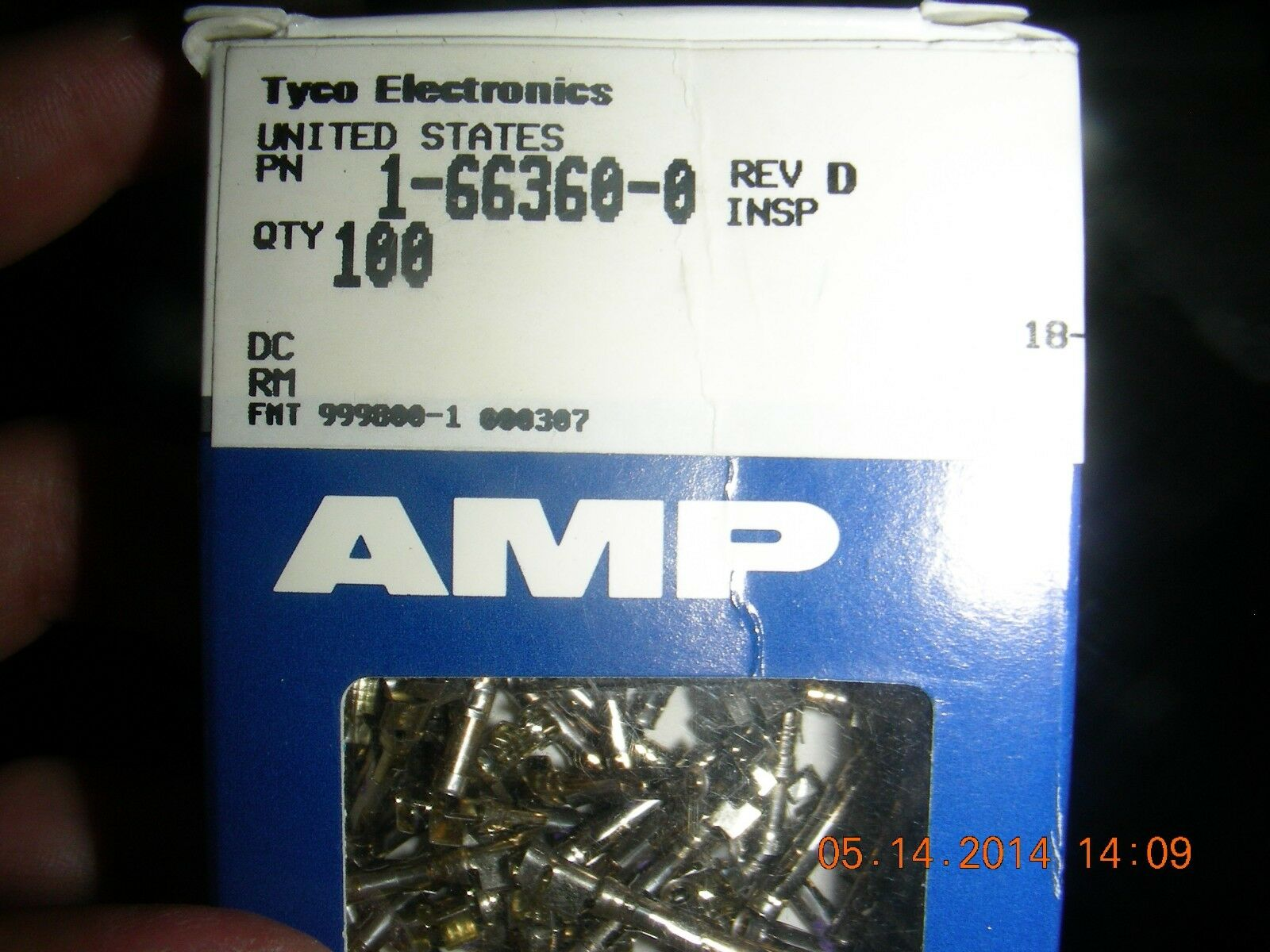 1-66360-0 M Series Contacts Qty AMP Loose From Bulk 50