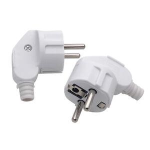 EU Euro AC Power Travel Adapter Converter Electric 2Pin Plug Charger Adapter