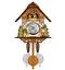 New-Vintage-Cuckoo-Clock-Forest-Swing-Wall-Room-Decor-Wood-Cartoon-Clock thumbnail 1