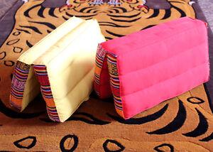 Large-Folding-Meditation-Cushion-Red-and-Light-Yellow-Cushion-Pillow