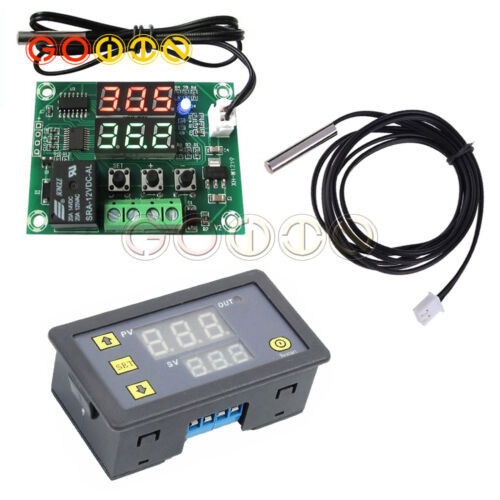 Digital DC12V Dual LED Cycle Timing Delay Timer Relay Module Switch New