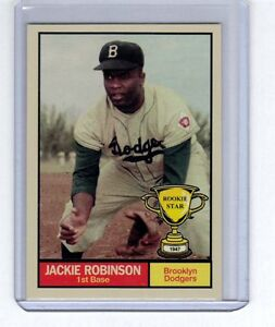 Jackie-Robinson-039-47-Brooklyn-Dodgers-Rookie-Stars-series-7-by-Monarch-Corona