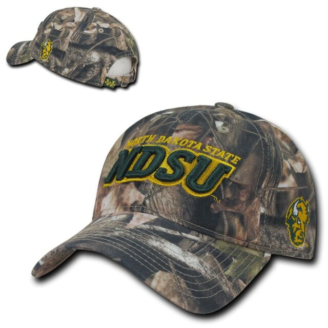 NDSU North Dakota State University Bison Camo Camoflage Mesh Back Hat