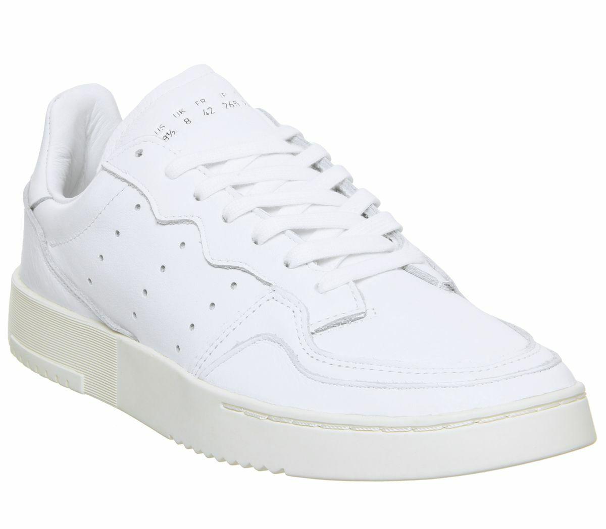 Mens Adidas Supercourt Trainers bianca  Off bianca Trainers Scarpe  vieni a scegliere il tuo stile sportivo