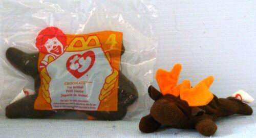 MIP McD 1997 McDonald/'s TEENIE Beanie Baby by TY #4 CHOCOLATE the MOOSE