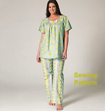 Kwik Sew K4145 PATTERN Women's Top. Nightgown & Pants - BN Sizes 1X-4X