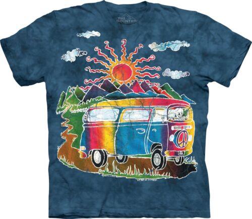 Batik Tour Bus Lifestyle T Shirt Adult Unisex The Mountain