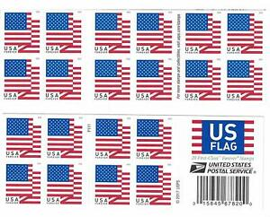 Details About Us Forever Stamps 2018 Usps Book Of 20 Us First Class Postage