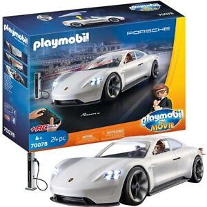 PLAYMOBIL-THE-MOVIE-Rex-Dasher-039-s-Porsche-Mission-E-70078