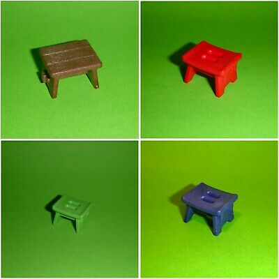 Playmobil rot aus Set 4282 Hocker Sitz