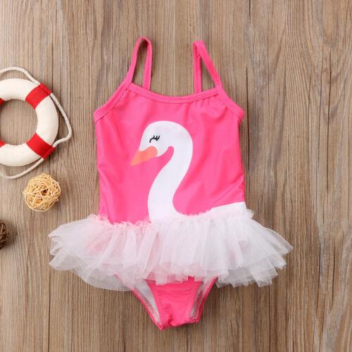 Toddler Kids Baby Girl Swimwear Swimsuit Bikini Bathing Suit Swimming Beachwear