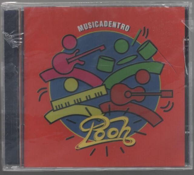 POOH MUSICA DENTRO MUSICADENTRO CD EDITORIALE SIGILLATO!!!