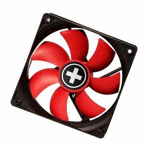 XILENCE-RED-WING-schwarz-roter-80mm-Gehaeuseluefter-80-x-80-x-25-mm