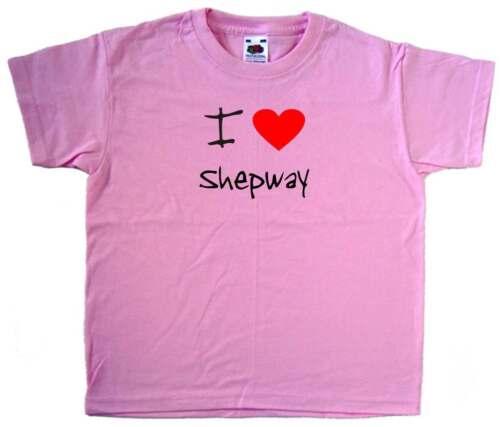 I Love Cuore Rosa shepway KIDS T-SHIRT