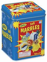 Marbles In A Tin Box, 160-piece , New, Free Shipping on sale