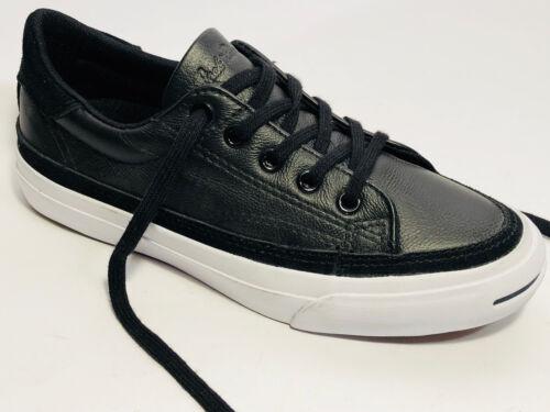 5 Black Converse Real 3 Leather Shoes Edge Sneaker Misura 35 White uk 8T8wX