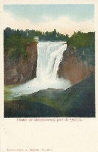 QUEBEC-QC-Chutes-de-Montmorency-Pres-de-Quebec-udb-pre-1908
