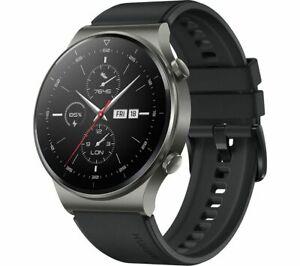 HUAWEI Smart Watch GT 2 Pro Night Black 46mm Water Resistant - Currys