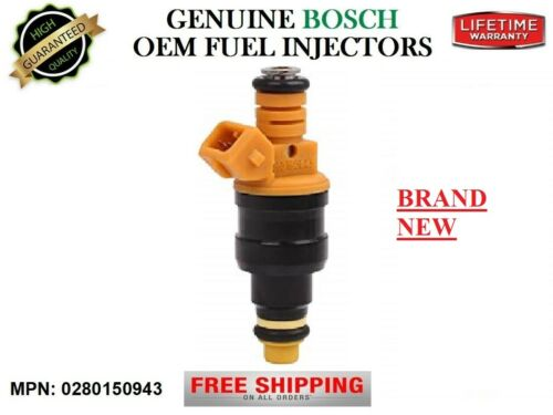 1 Fuel Injector />1997-02 Ford Expedition 4.6//5.4L V8/< OEM Bosch 0280150943 New