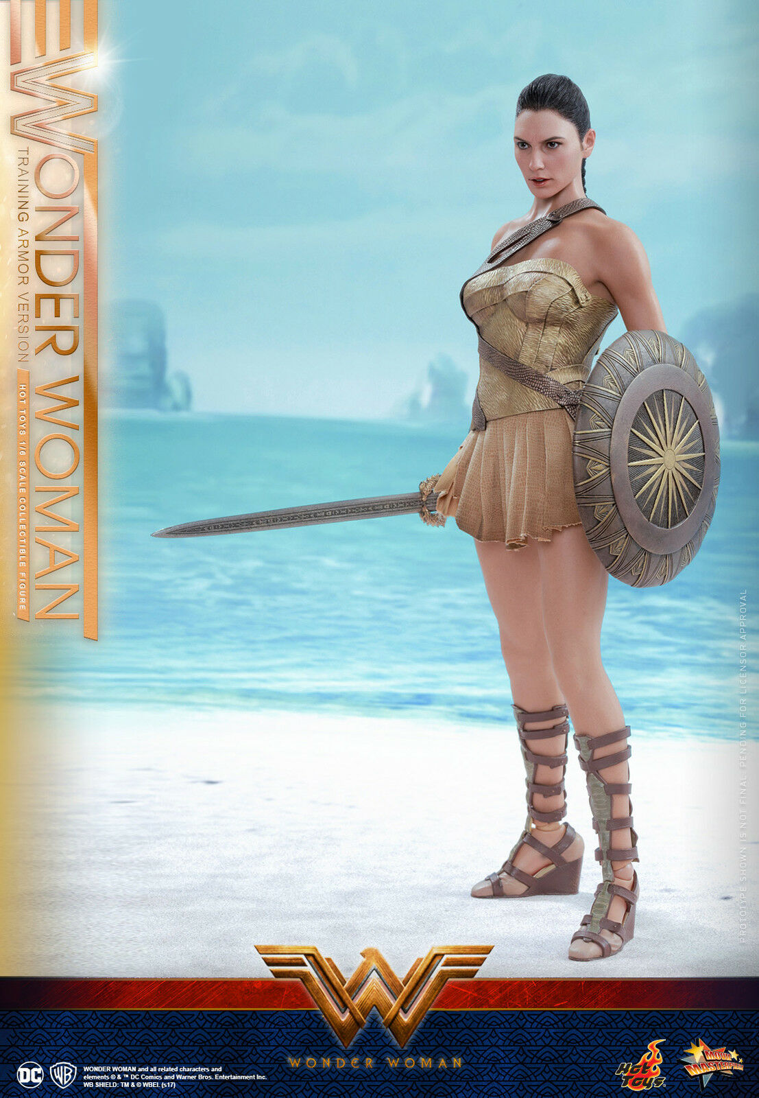 Hot Toys Wonder Woman 1/6th Wonder Woman (Training (Training (Training Armor Version) Figure MMS424 d426d8