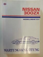 Original Werkstattthandbuch Nissan 300ZX (Z31) ab 85