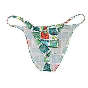 c1255bdd15d9 Men String Bikini Sexy Guy Swimming Mini Briefs Stretchy Underwear ...