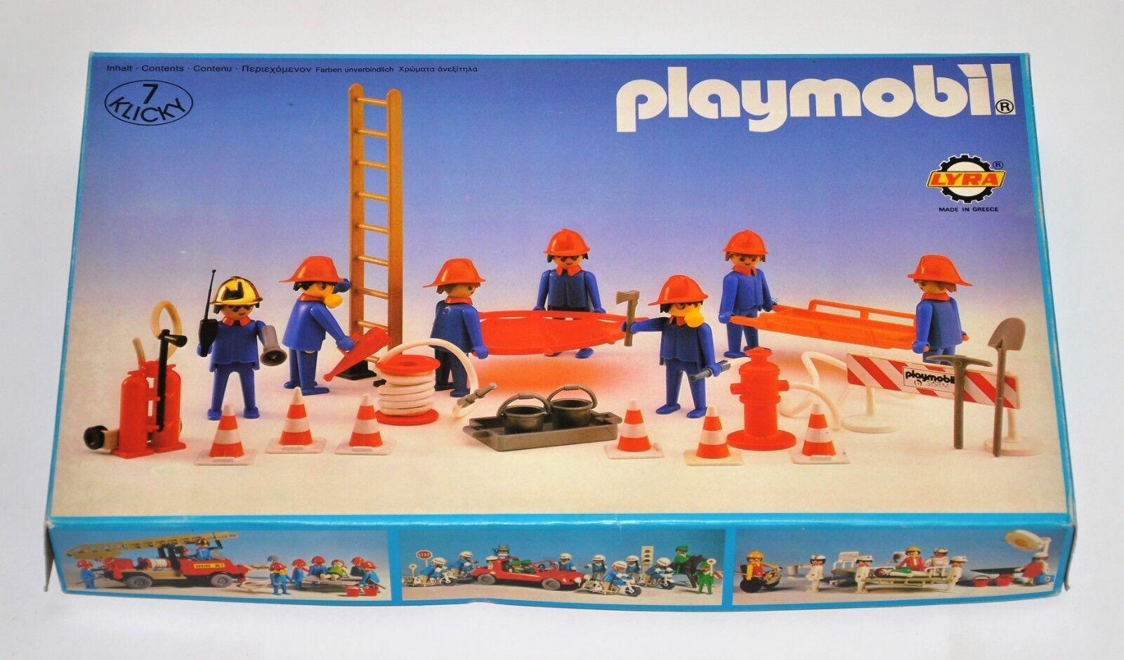 Playmobil  system Lyra 3403 firemen