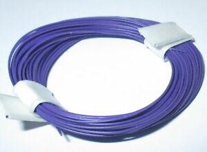 1m-17-9-CT-Fil-de-Decodeur-Tres-Souple-0-04-MM-10m-Anneau-Violet-gt-Nouveau