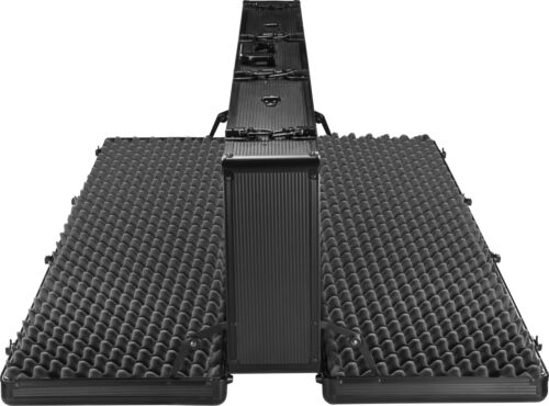 BH11982 Barska Loaded Gear AX-400 Black Double Tactical Rifle Shotgun Hard Case