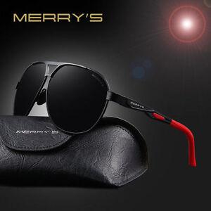 987d6b7e46 2019-MERRY S Sunglasses-Men High quality HD Polarized Aluminum With ...