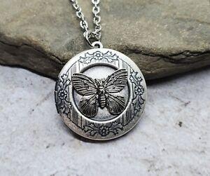 Handmade Bookworm Locket Necklace