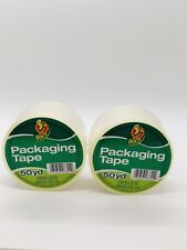 2 Rolls Clear Duck Packaging Packing Carton Shipping Tape 188 X 50 Yards