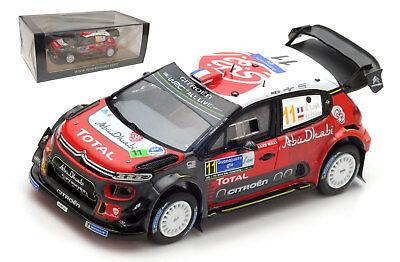 Citroen C3 Wrc #11 Rally Tour De Corse 2018 S.Loeb D.Elena SPARK 1:43 S5969 Mode