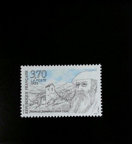 1995 France Francis Jammes, Poet Scott 2501 Mint F/VF N