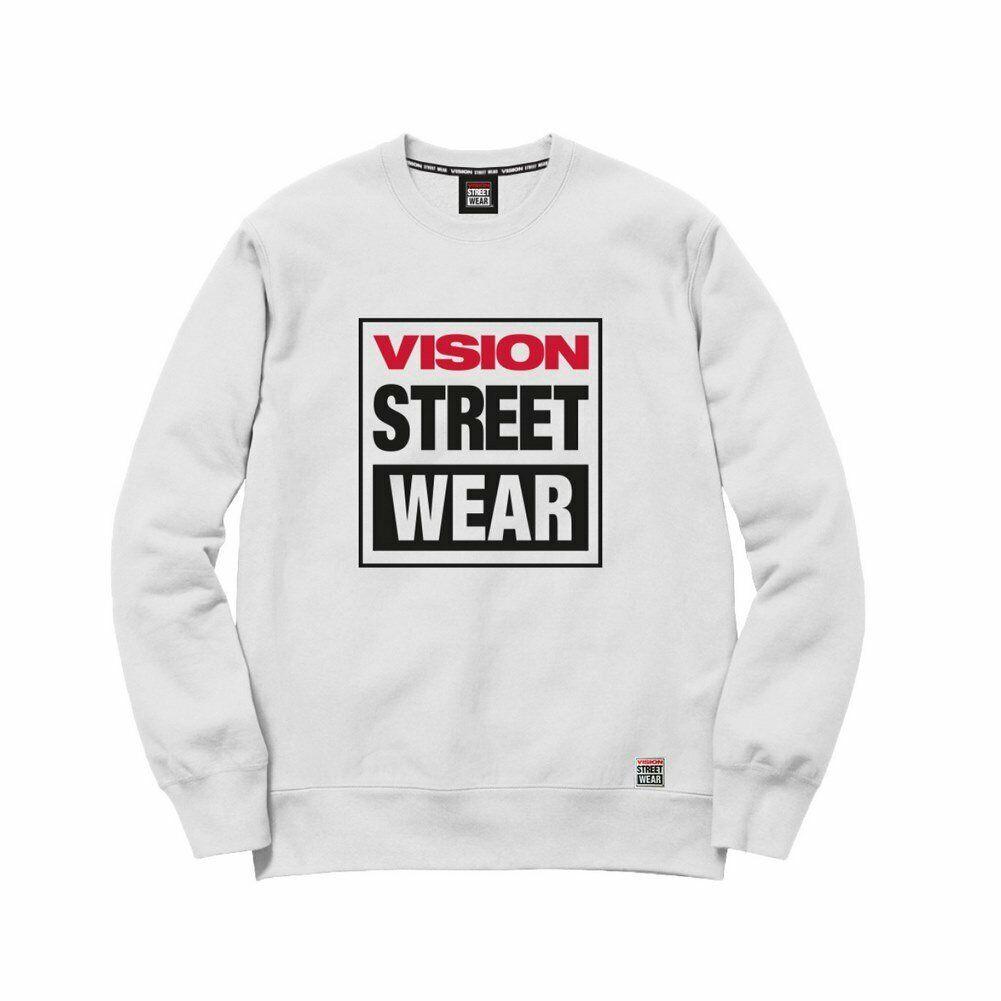Sudadera VFU01 Vision  blancoo Hombre  tienda de venta en línea