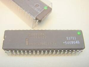 intel 8080 microprocessor It was the first intel 8 bit processor to which followed the 8086, then the 80186, 80286, etc all of which were code compatible and are often referred to.