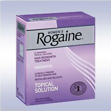 ROGAINE WOMEN'S TOPICAL SOLUTION (3 MONTHS) 2% minoxidil regaine hair woman