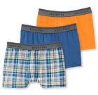 SCHIESSER garçon Shorts de hanche De 3 Lot Taille 128-176 95/5 CO/EL Boxer NEUF