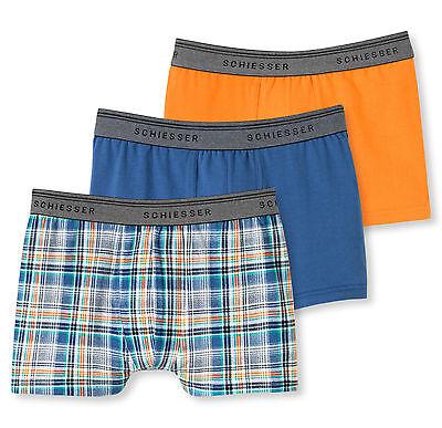 Schiesser Jungen Shorts 3er-Pack
