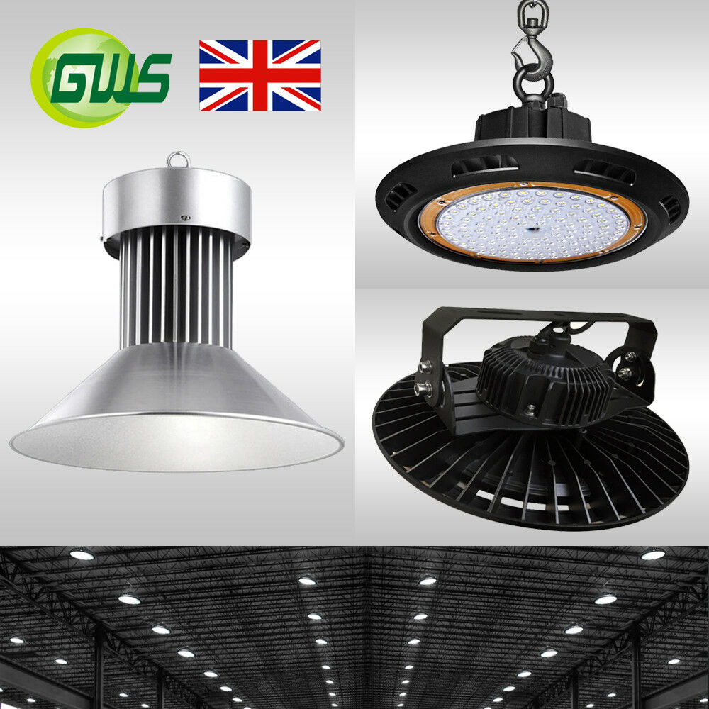 LED UFO High Bay Light 50W 100W 150W 200W for Commercial Warehouse Industrial