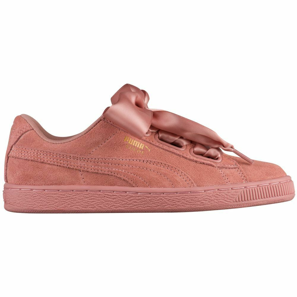 Puma Women's Suede Heart Brown/Cameo Satin NEW AUTHENTIC Cameo Brown/Cameo Heart Brown 364084-03 277025