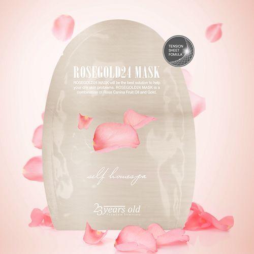 [23 YEARS OLD] Rosegold24 Mask 1pcs / Korea Cosmetic