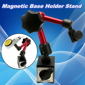 Universal Flexible Magnetic Metal Base Holder Stand Dial