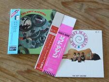 Soft Machine:s/t [1st] Japan Mini-LP CD+Promo Sleeve+2 Promo Obi UICY-9687 (Q