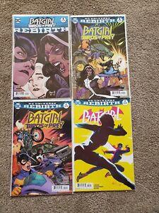 Batgirl-and-the-Birds-of-Prey-Rebirth-1-2-DC-Comics-amp-Batgirl-2-4-comic-lot