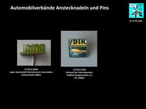 Automobil Verbände national / international Anstecknadeln und Pins Aussuchen