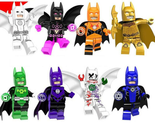 Super Hero 2019 Multicolored Batmans Building Blocks Best Toys Gift Collection
